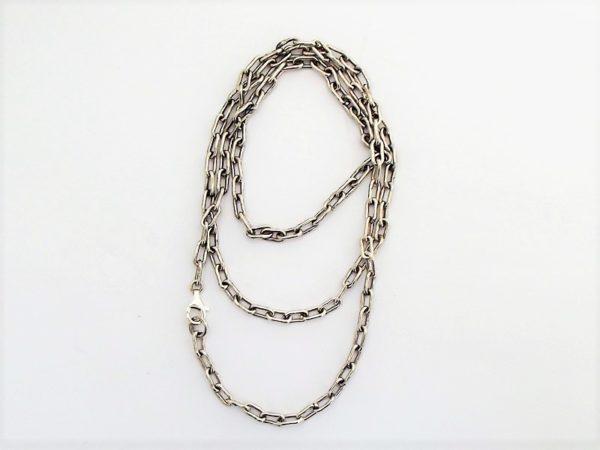 Łańcuch srebro pr925 długość 63 cm