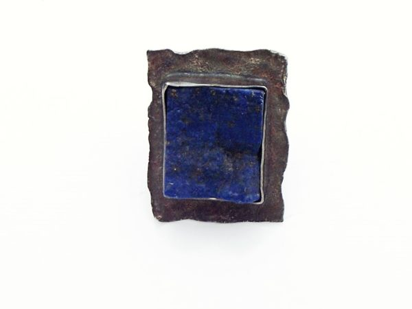 Pierścionek srebro i lapis lazuli rozmiar21