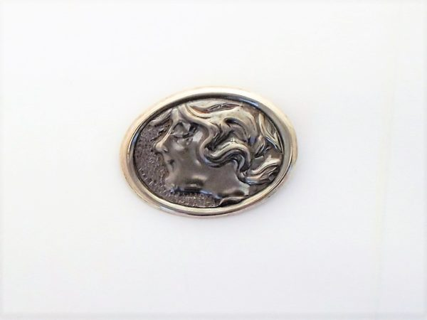 Broszka srebro pr925