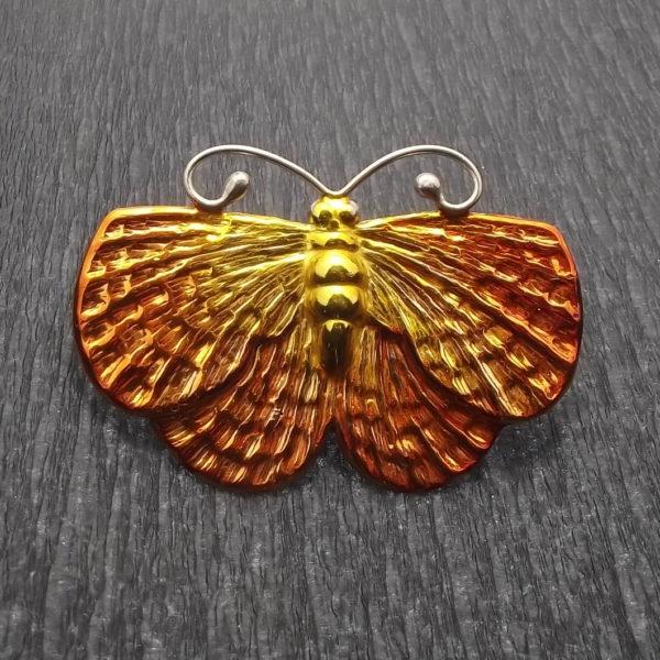 Broszka srebro pr925 motyl