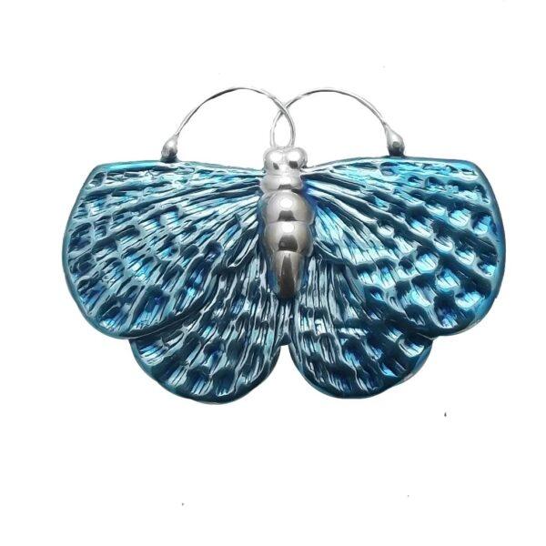Broszka motyl srebro pr925